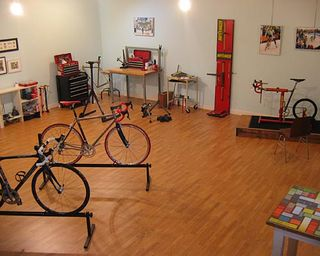 Zac's Cascade Bicycle Studio in Seattle, Washington