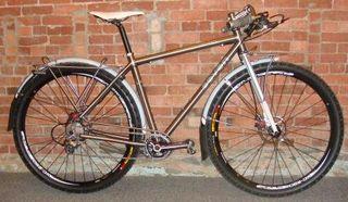 25Seven: Commuter Bike Custom Rear Pannier Rack