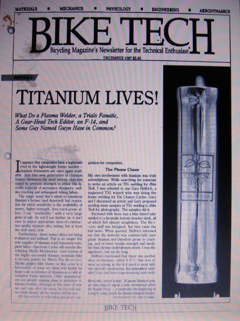 Titanium Lives