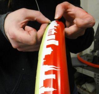 Berlin Bike Fender Detail Masking